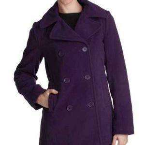 Kim Calvin Klein coat